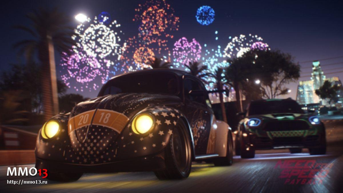 В Need for Speed: Payback добавят онлайн-режим свободной езды 22441