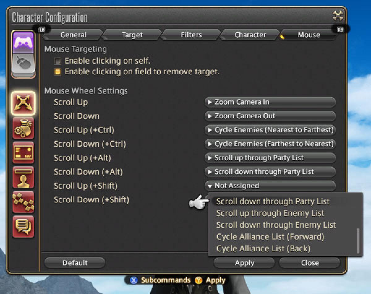 Обзор нового интерфейса в Final Fantasy XIV 22605