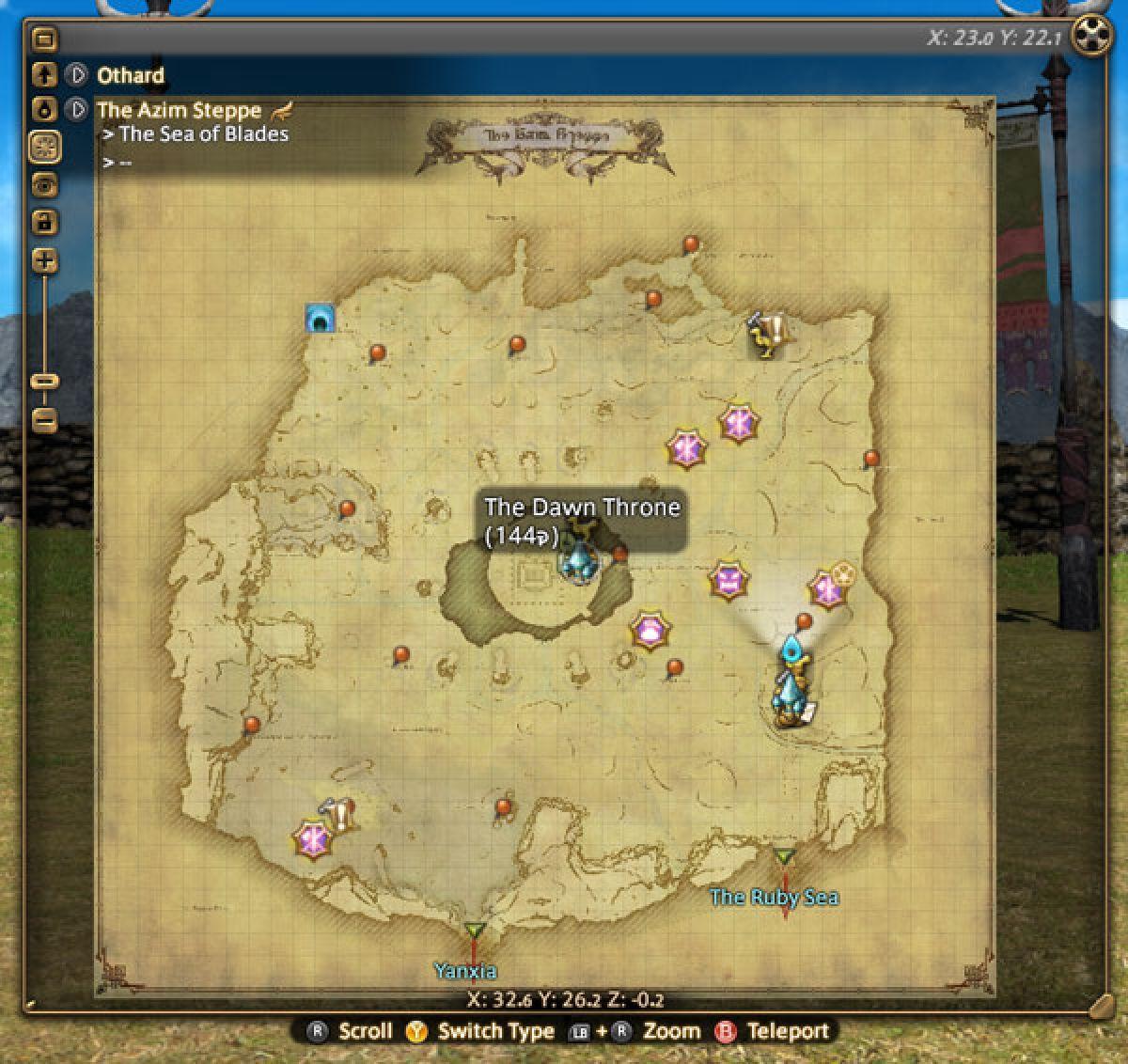 Обзор нового интерфейса в Final Fantasy XIV 22608