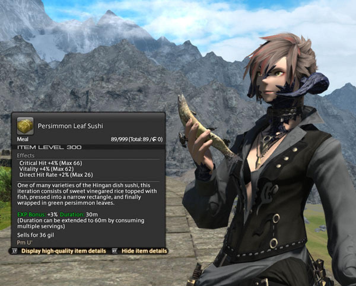 Обзор нового интерфейса в Final Fantasy XIV 22610