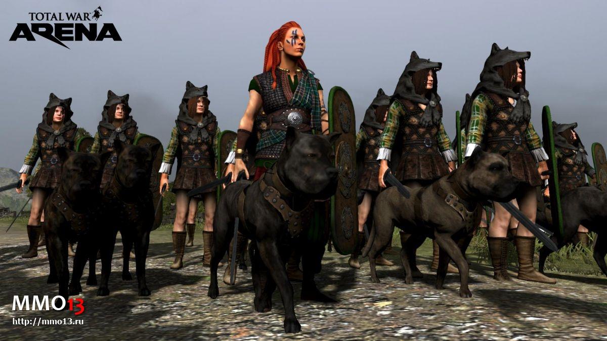 Объявлена дата начала ОБТ Total War: Arena 22726