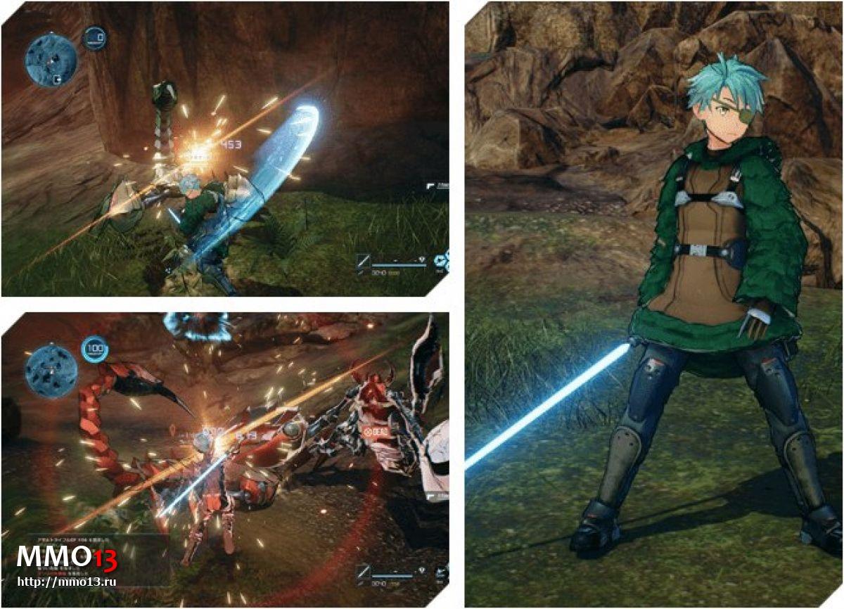 Все классы оружия в Sword Art Online: Fatal Bullet 22758