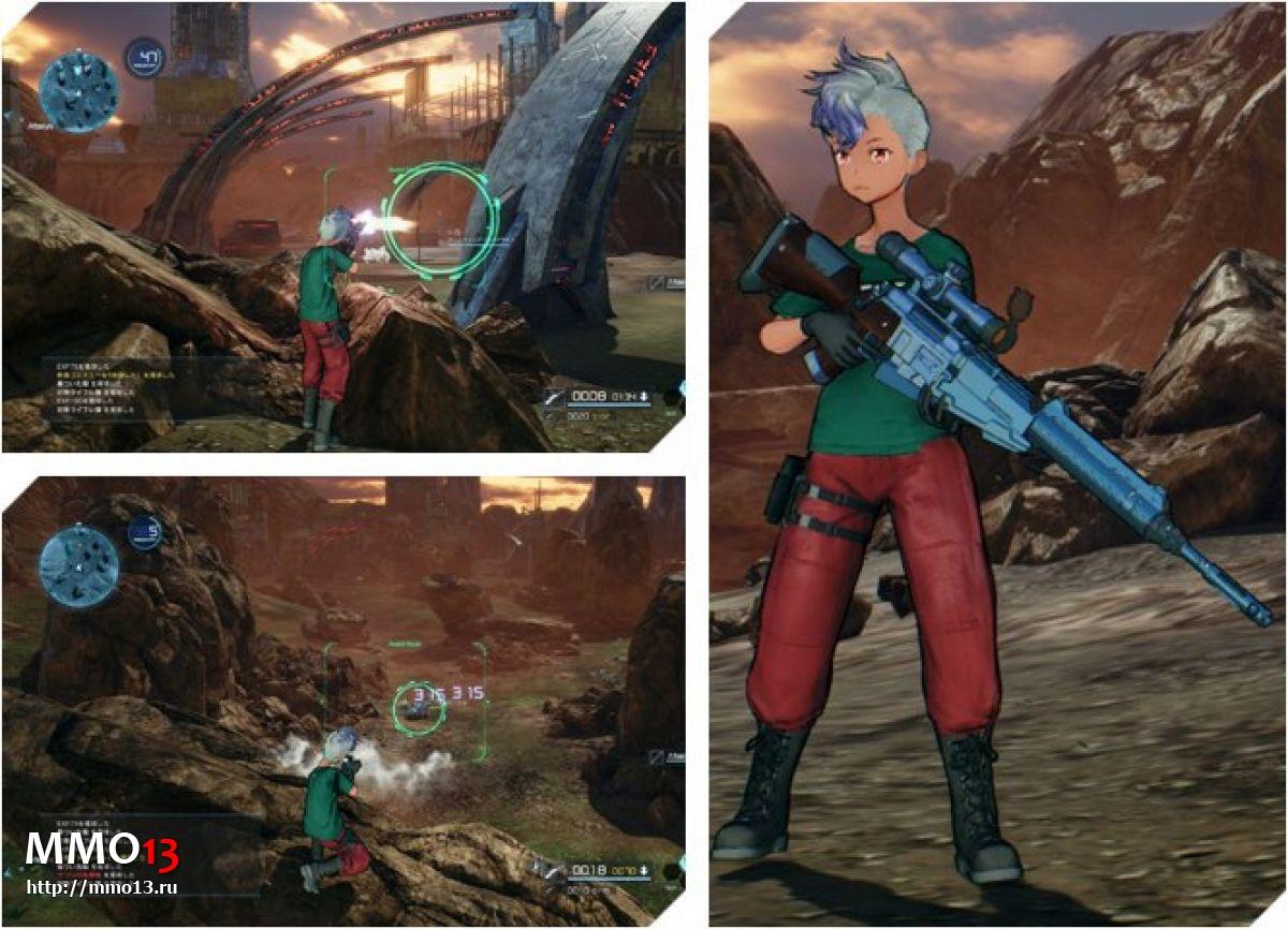 Все классы оружия в Sword Art Online: Fatal Bullet 22759