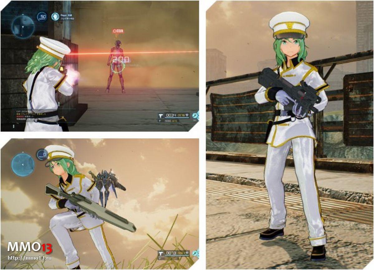 Все классы оружия в Sword Art Online: Fatal Bullet 22764