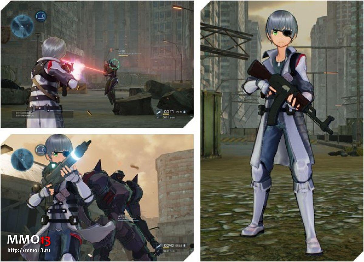 Все классы оружия в Sword Art Online: Fatal Bullet 22765