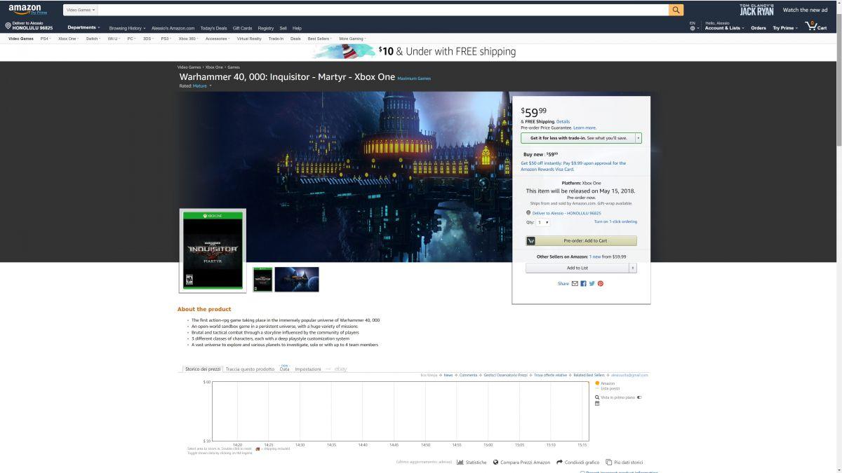 Появилась возможная дата выхода Warhammer 40K Inquisitor – Martyr 22768