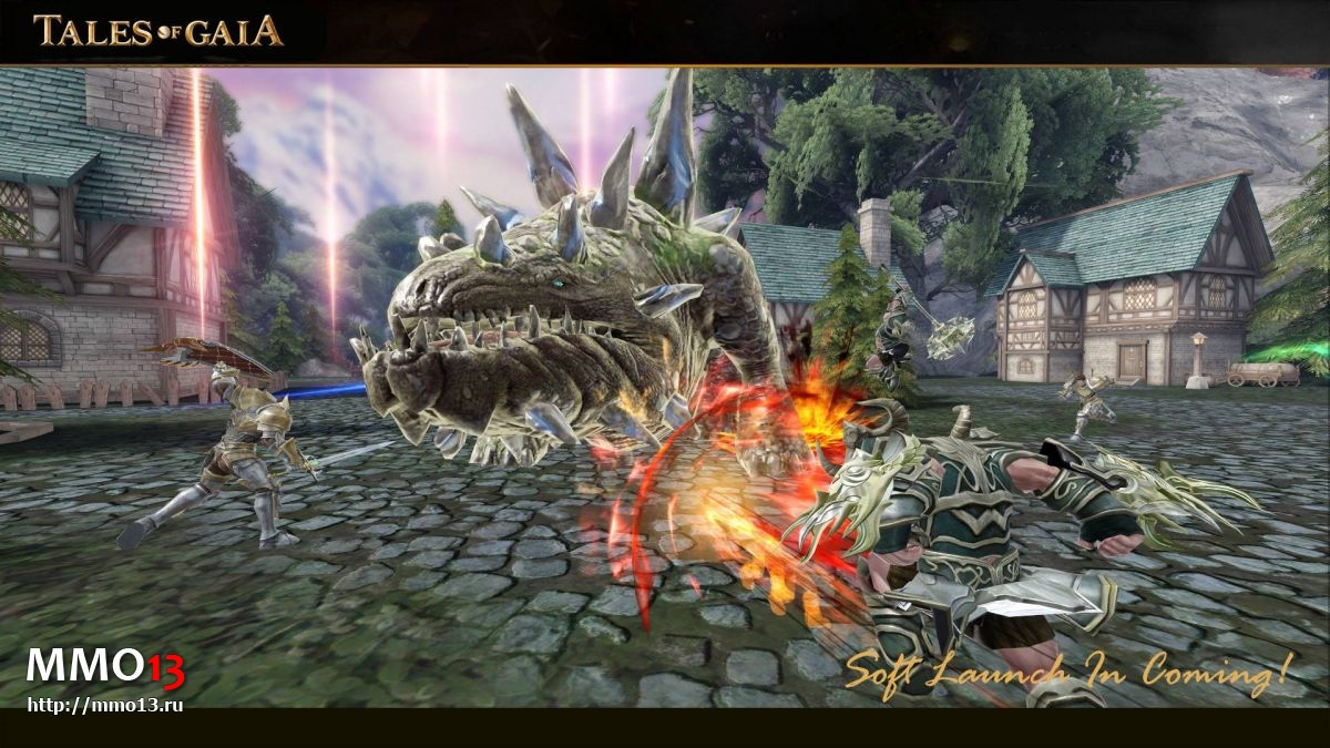 Tales of Gaia — спин-офф Dark and Light вышел на мобильных устройствах 22945