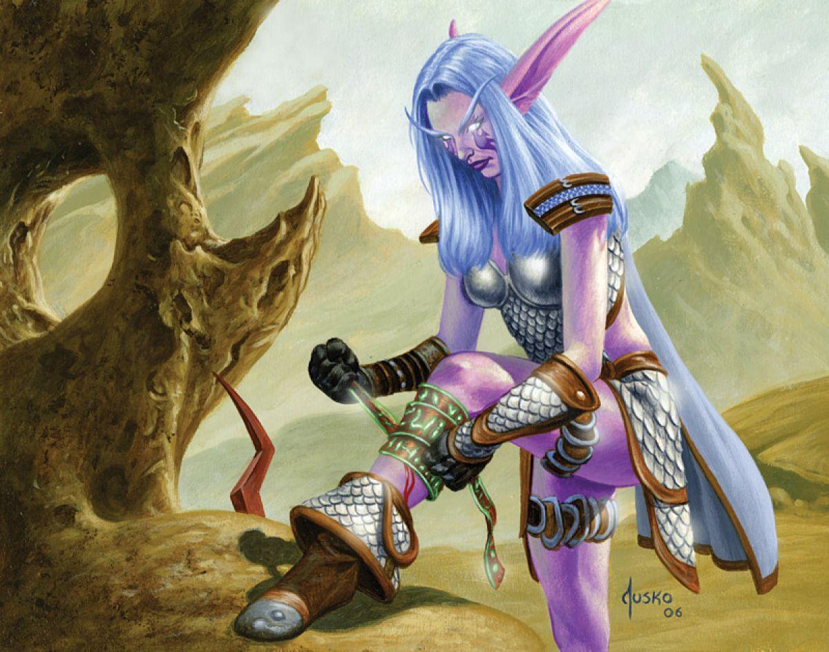 В дополнении World of WarCraft: Битва за Азерот не будет профессии «Первая помощь» 23233