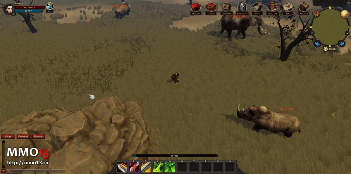 Олдскульная MMORPG Arcfall станет бесплатной 23275