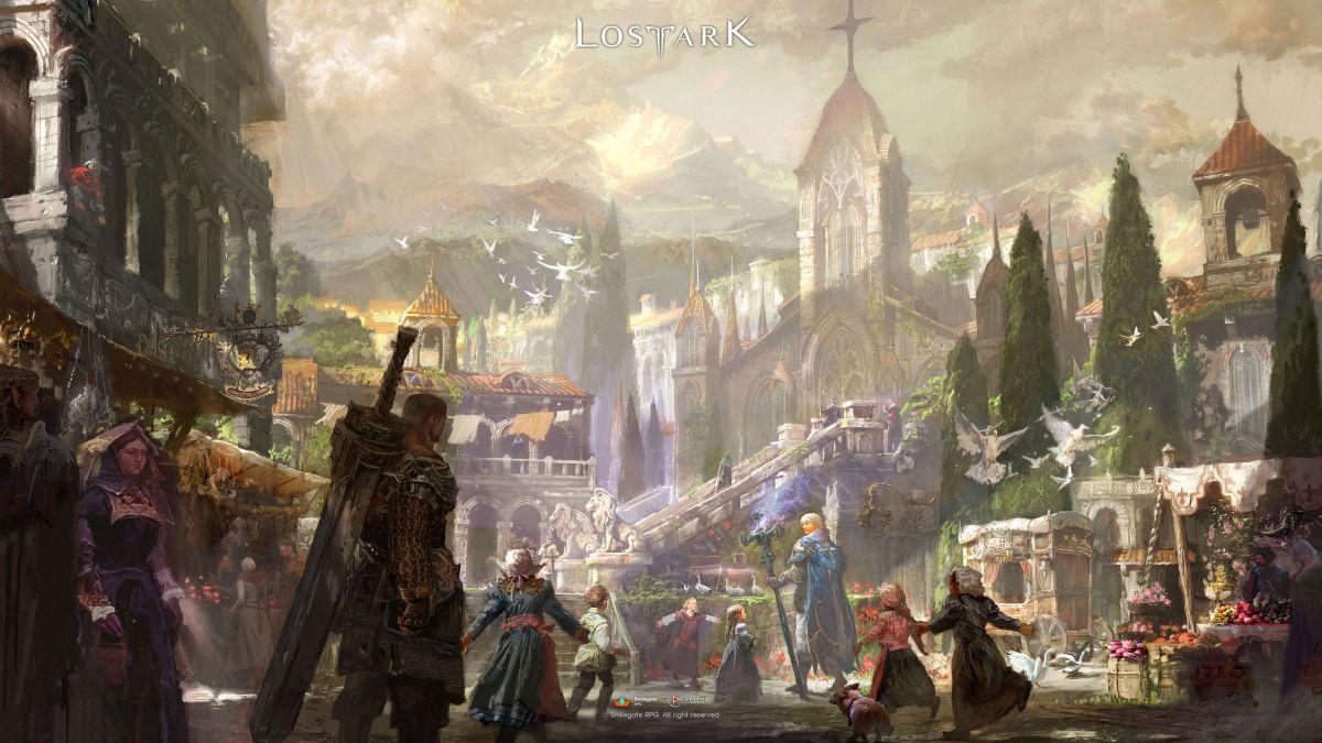 Новый концепт-арт Lost Ark к финальному ЗБТ 23522