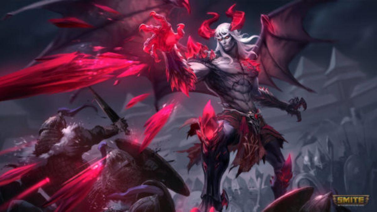 Демонический персонаж появился в Smite вместе с обновлением Lord of Darkness  23848