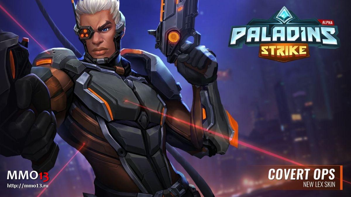 Авторов Paladins Strike обвинили в краже арта из Overwatch 23979
