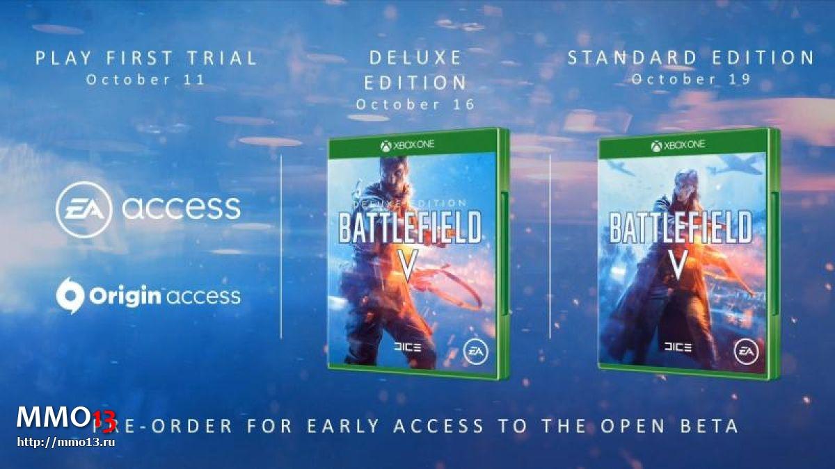 В Battlefield V не будет сезонного пропуска 24042