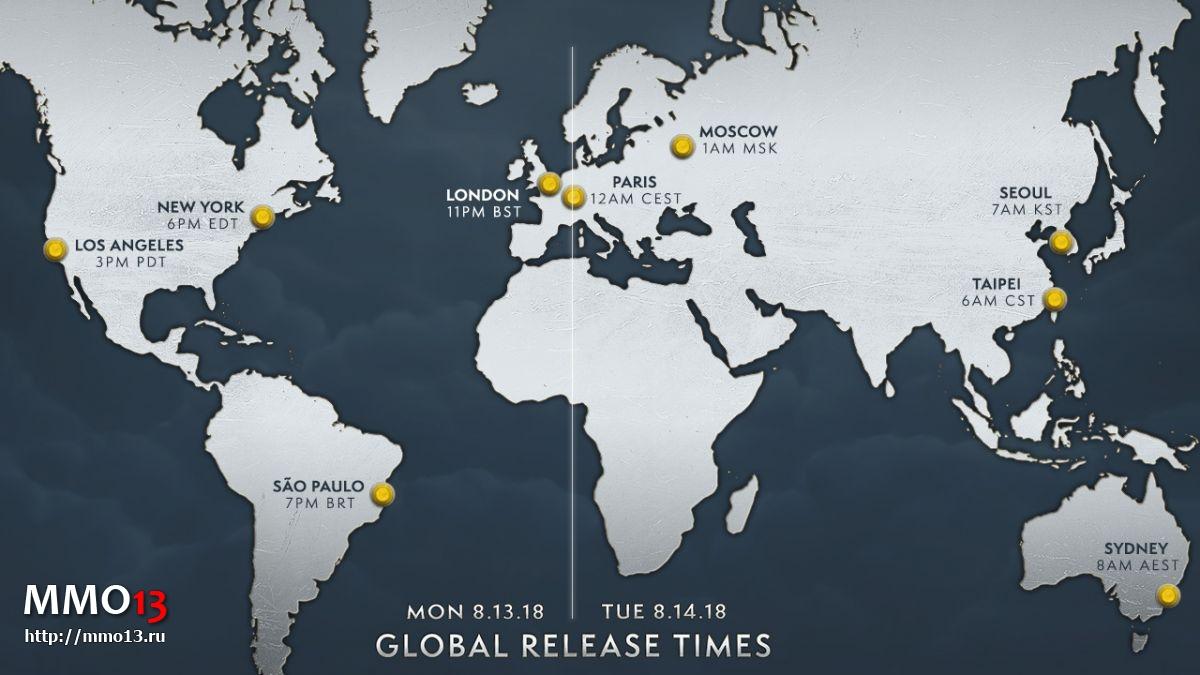 Выход аддона «Битва за Азерот» для World of Warcraft состоится одновременно во всем мире 24249