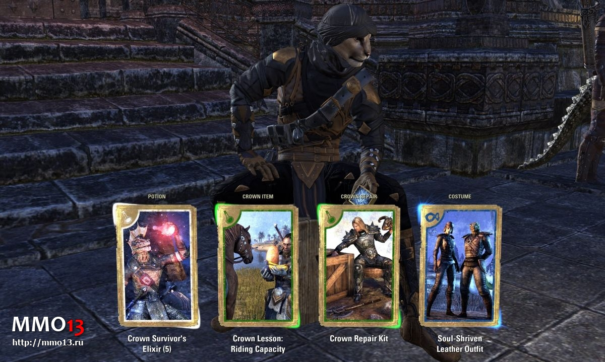 В The Elder Scrolls Online бесплатно раздают кронные ящики 24261