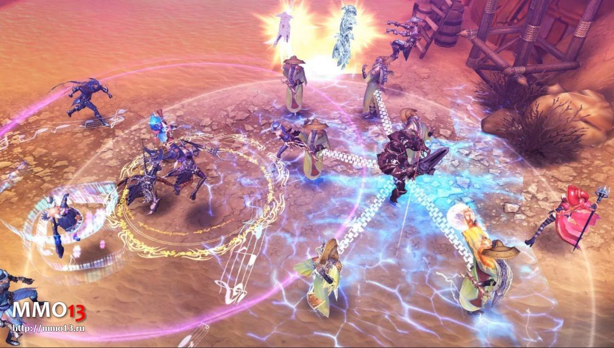 Мобильная MMORPG Royal Blood вышла в России, но без русского языка 24418