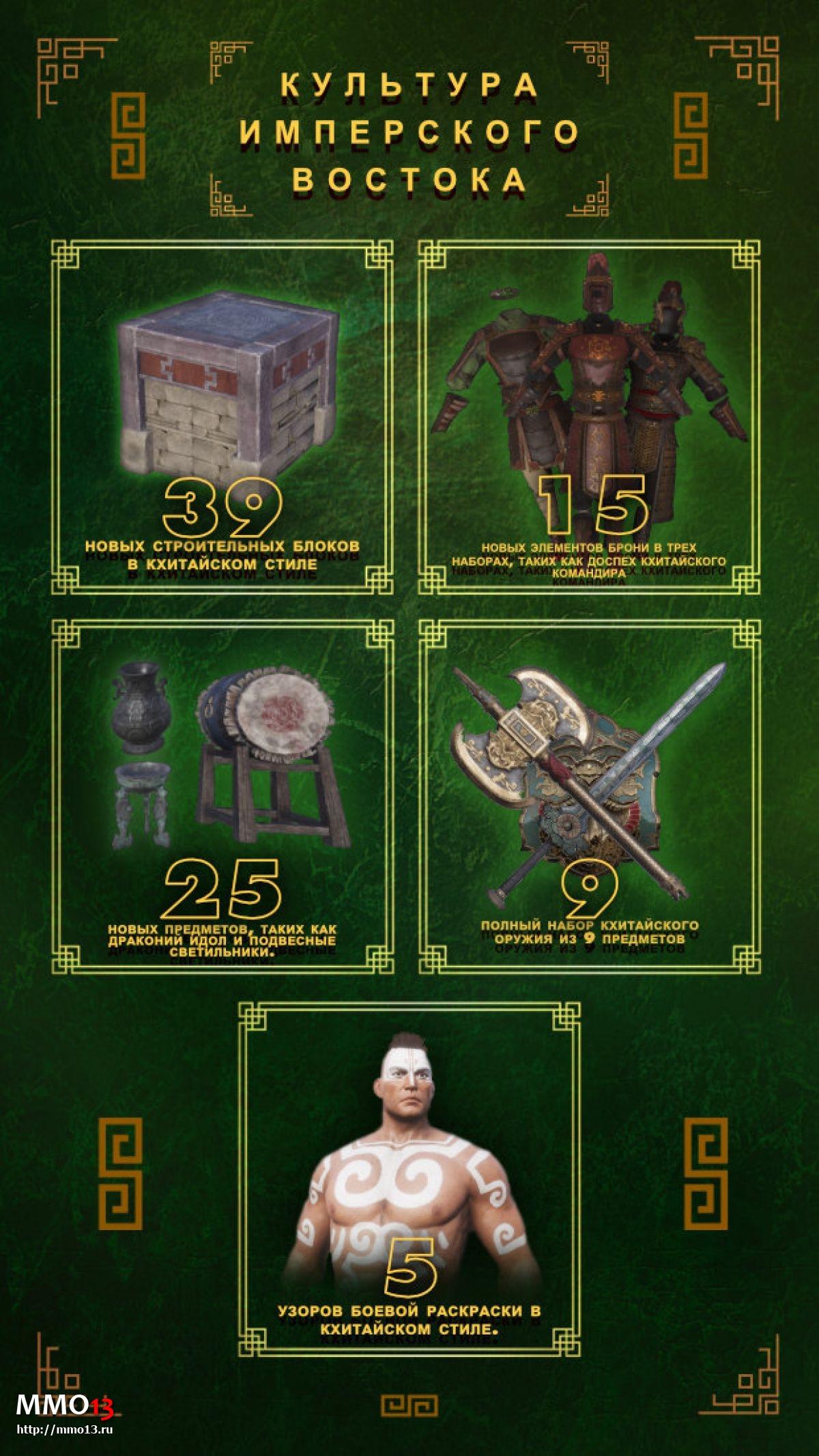 Вышло дополнение «Культура имперского востока» для Conan Exiles 24488