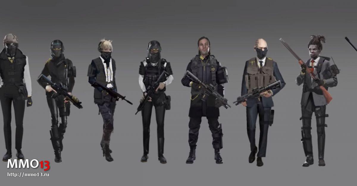 Создание персонажей в Mavericks: Proving Grounds 24580