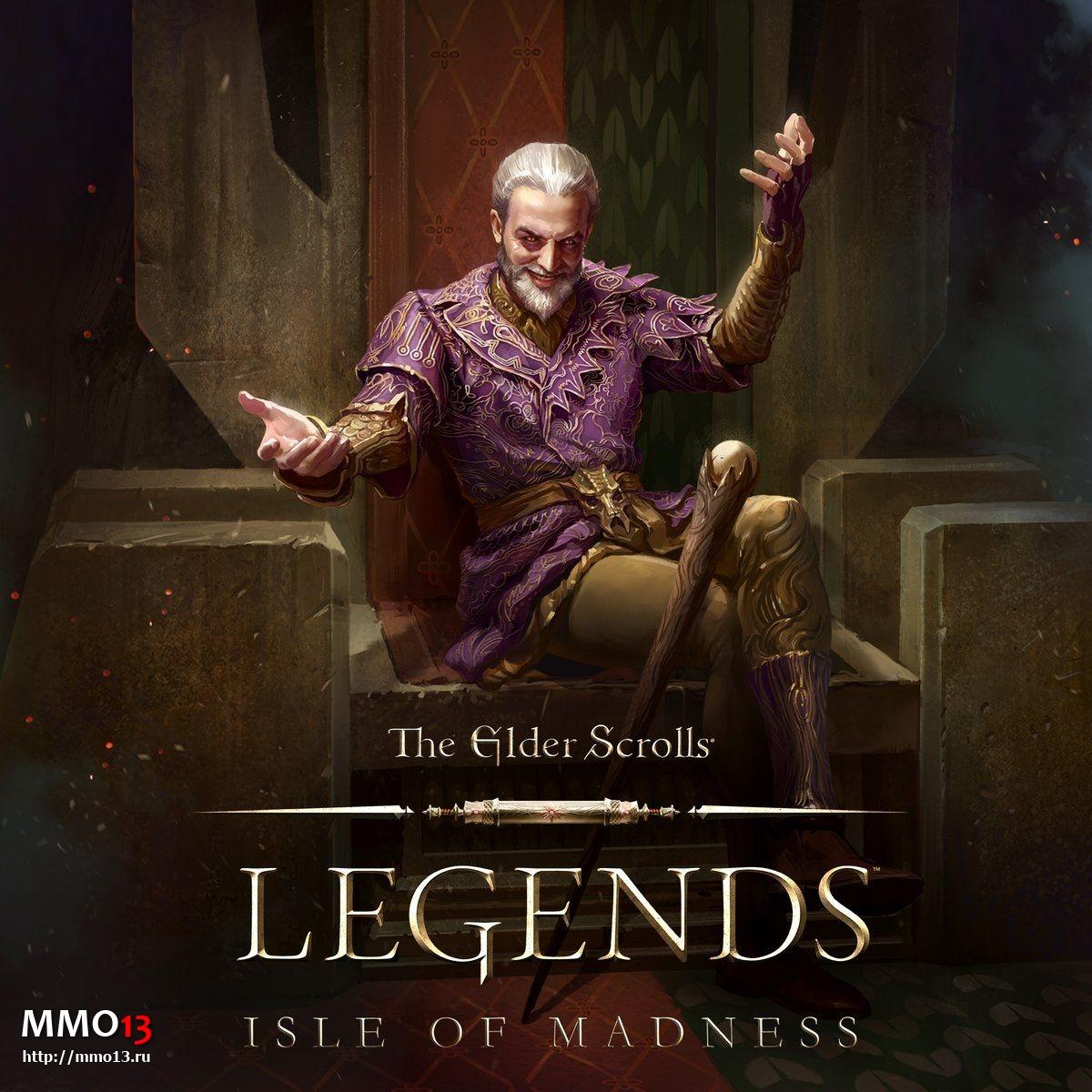 Анонсировано дополнение Isle of Madness для The Elder Scrolls: Legends  24835