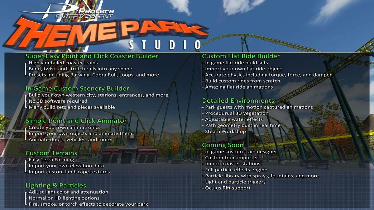 theme park studio downloads