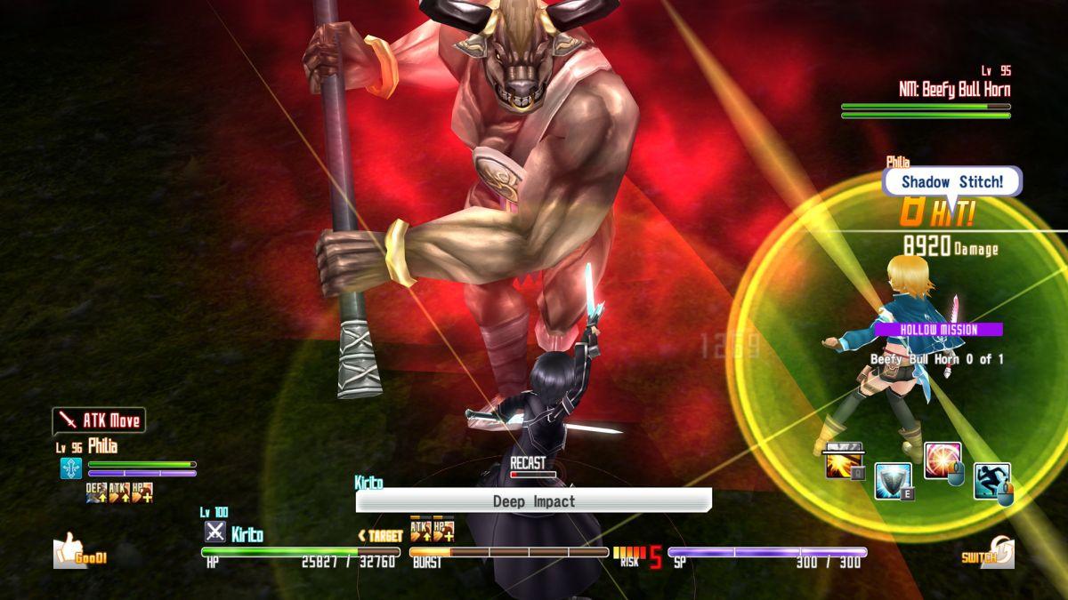 Sword Art Online Re: Hollow Fragment — дата выхода
