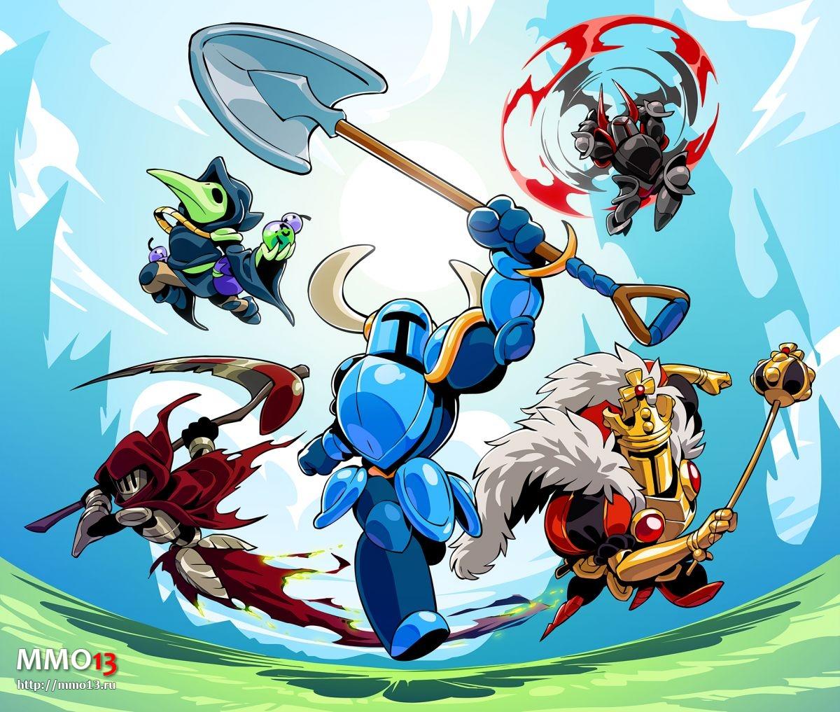 Главный герой Shovel Knight появится в Brawlhalla 207251