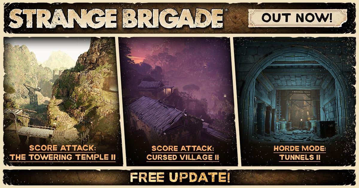Strange Brigade — бесплатное дополнение и платное DLC уже в игре 210044