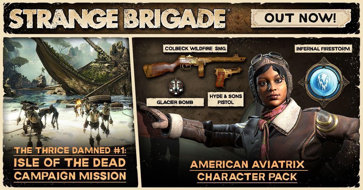 Strange Brigade — бесплатное дополнение и платное DLC уже в игре 210045