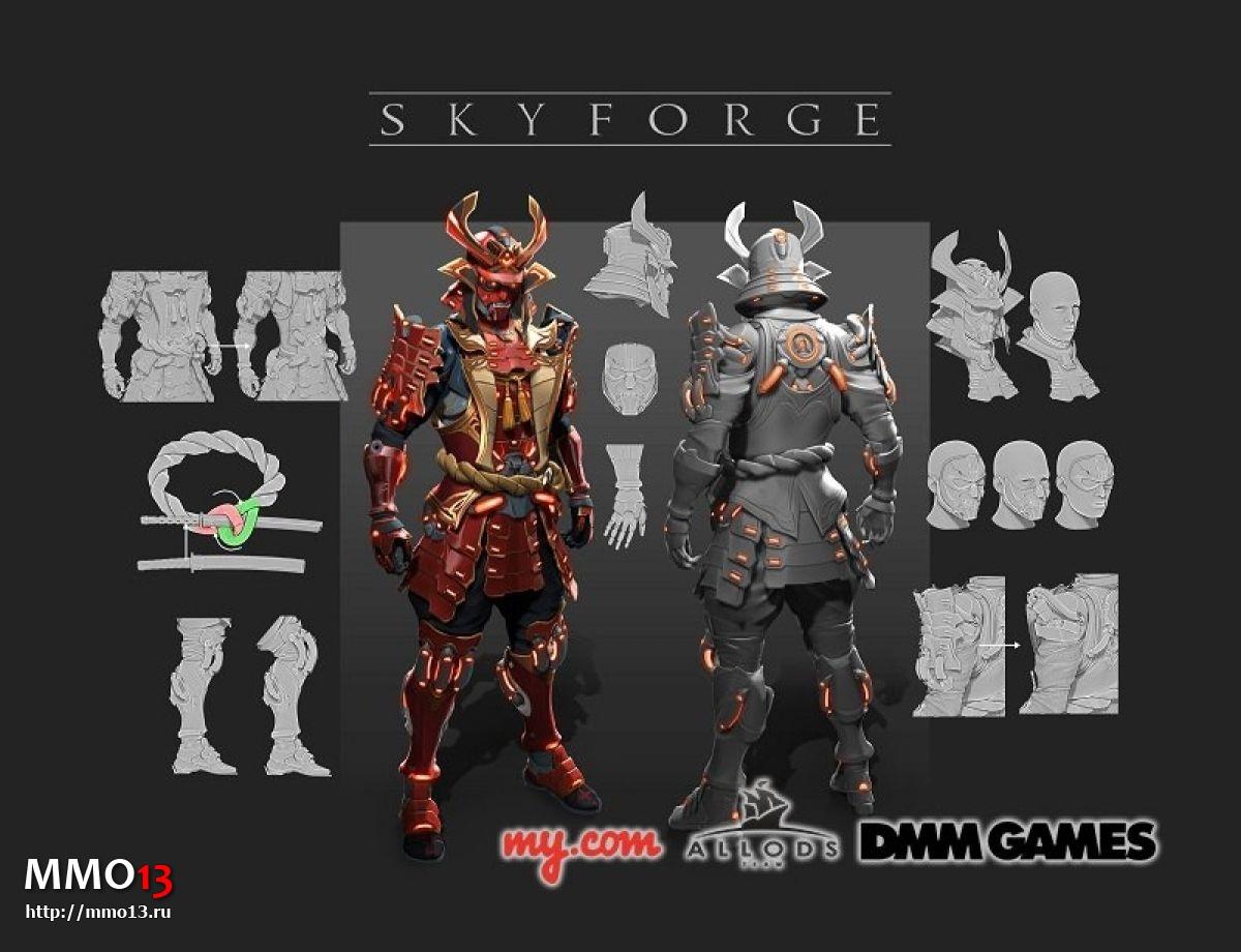 Skyforge вышла в Японии 210046