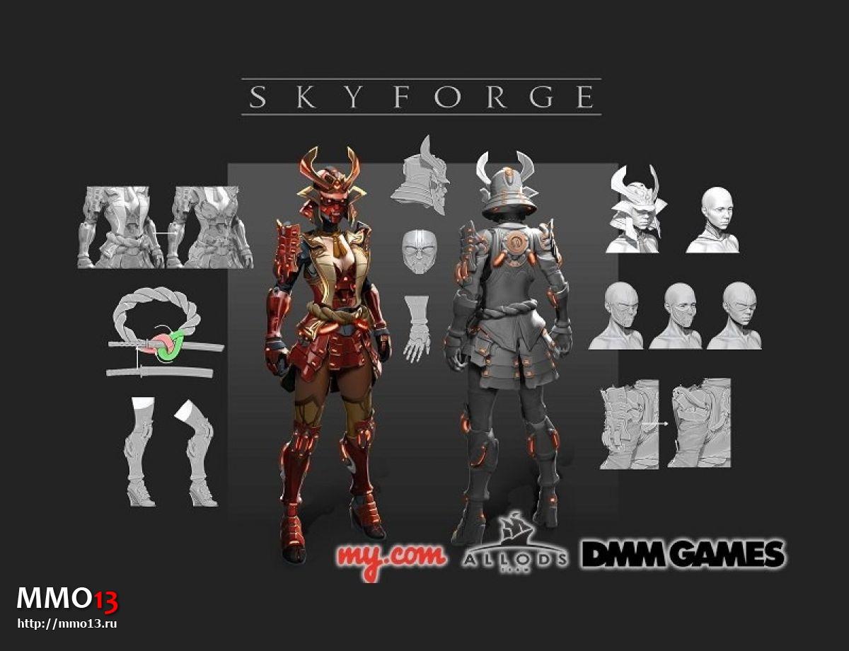 Skyforge вышла в Японии 210047