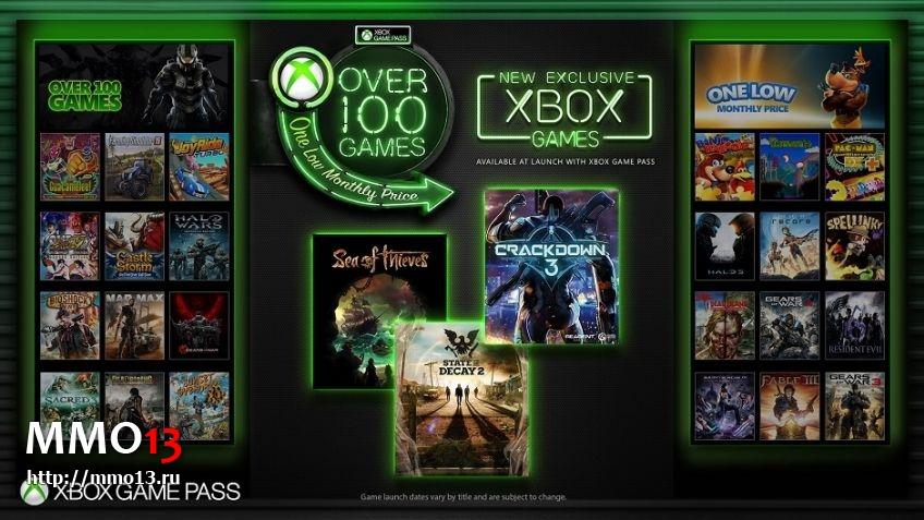 Сервис Xbox Game Pass будет запущен на PC 213200