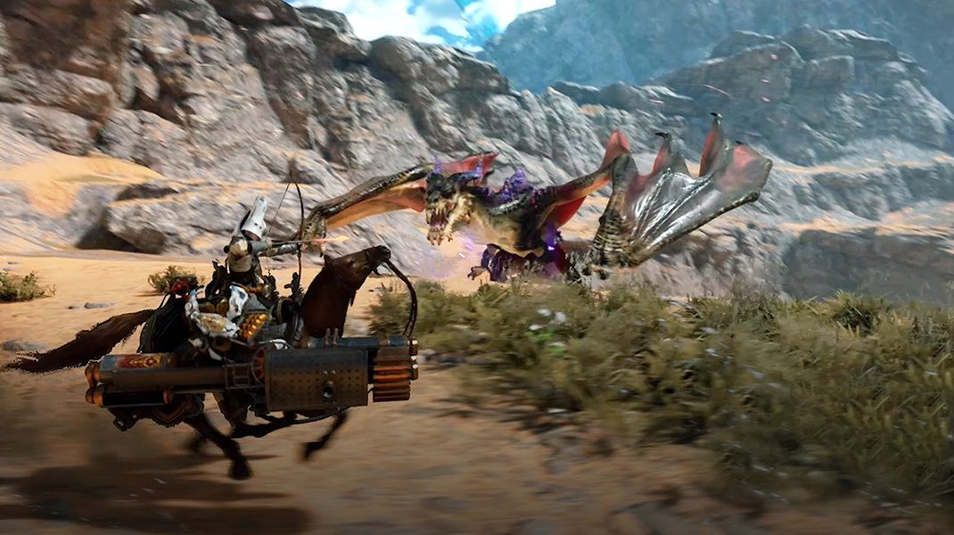Nexon представила Action MMORPG Dragonhound