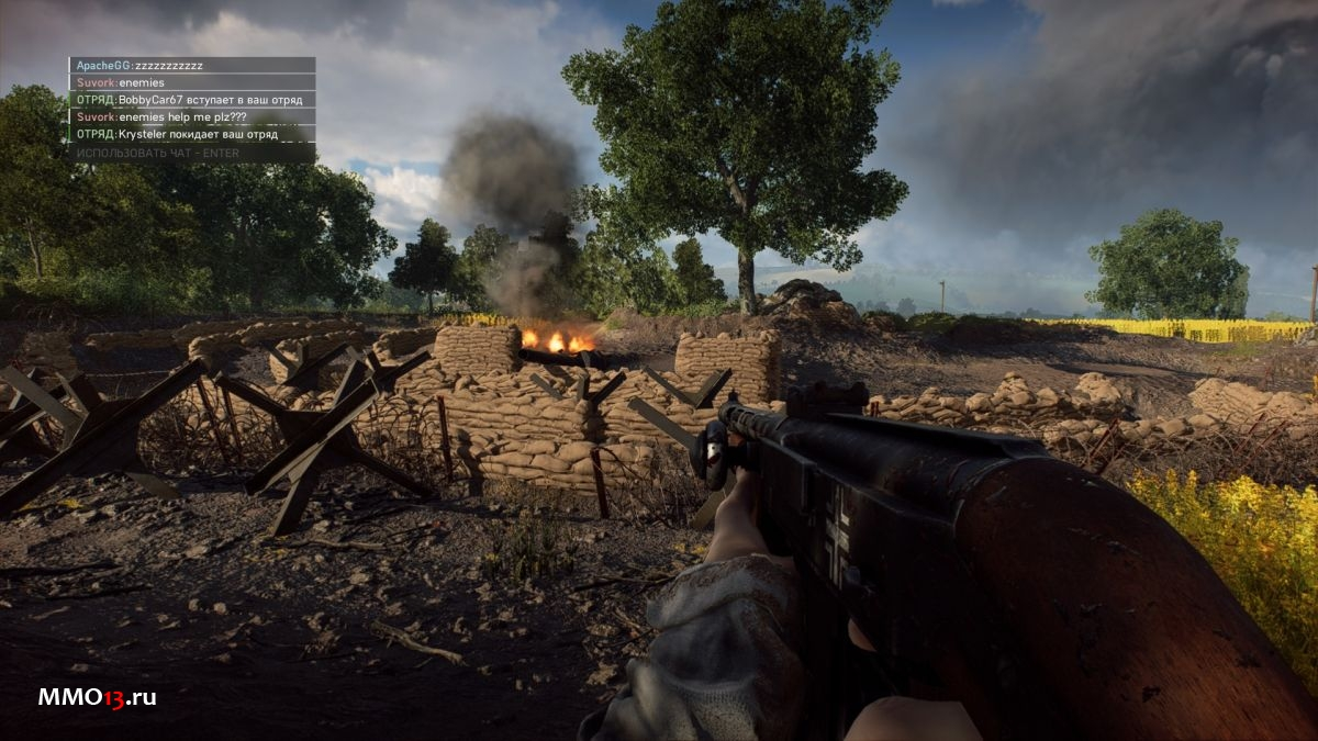 Лысые девушки и рай для пацифистов — обзор Battlefield V