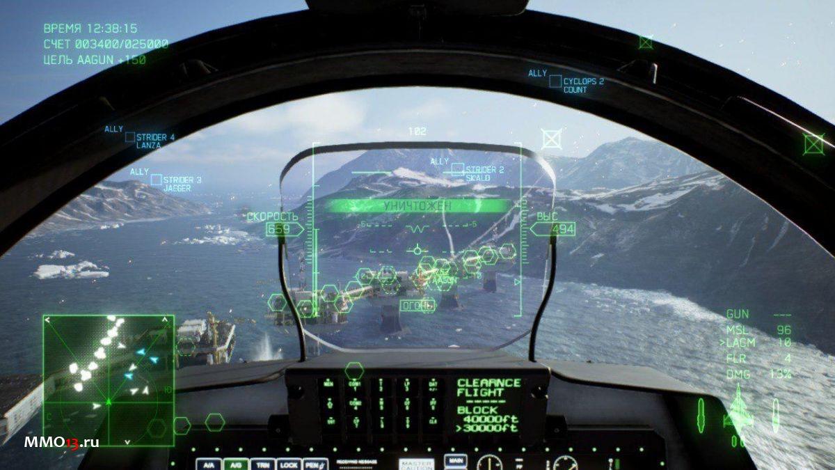 Обзор Ace Combat 7: Skies Unknown