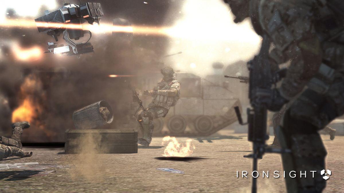 IronSight готовится к старту ОБТ