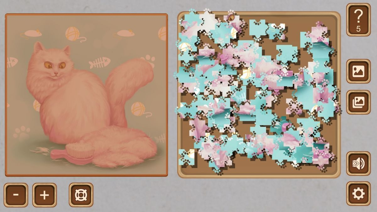 Online pussy puzzle