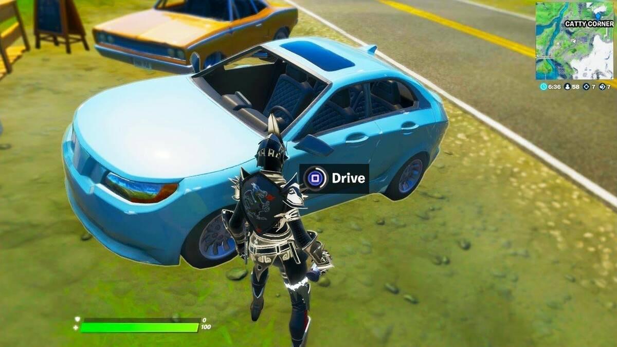 В Fortnite исчезли все полицейские машины