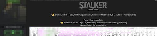 Stalker Online: популярную MMORPG взломали, а данные миллиона пользователей выставили на продажу