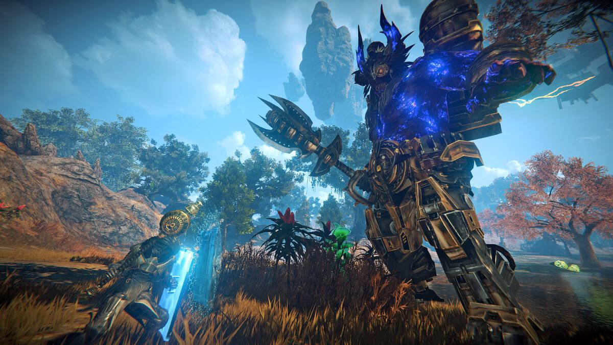 В предстоящем тесте MMORPG Elyon появятся новые мировые боссы-гиганты