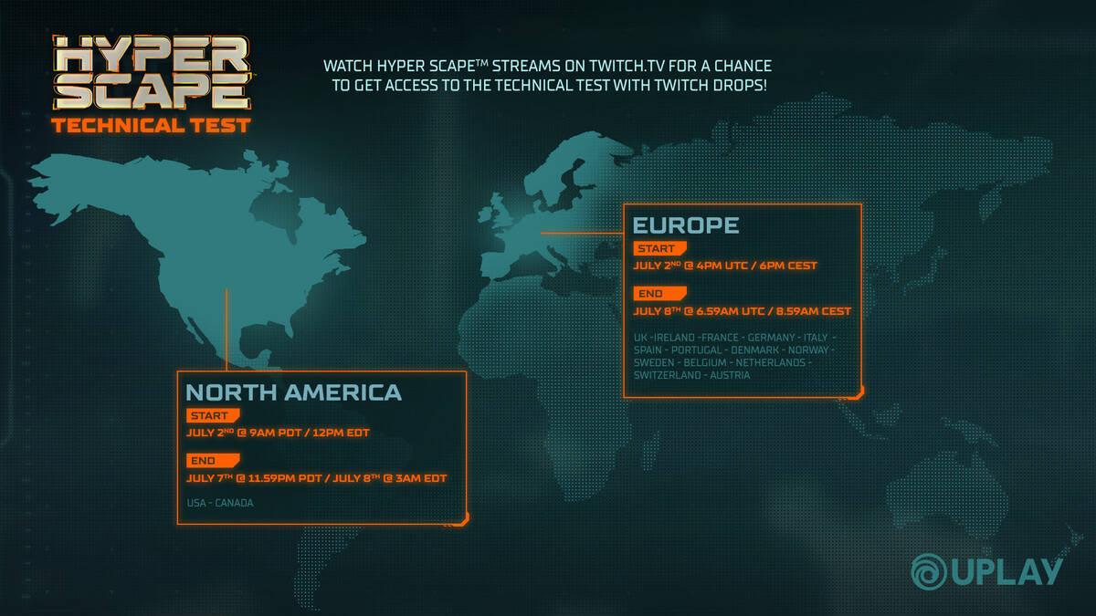 Начался технический тест Hyper Scape новой Королевской битвы от Ubisoft