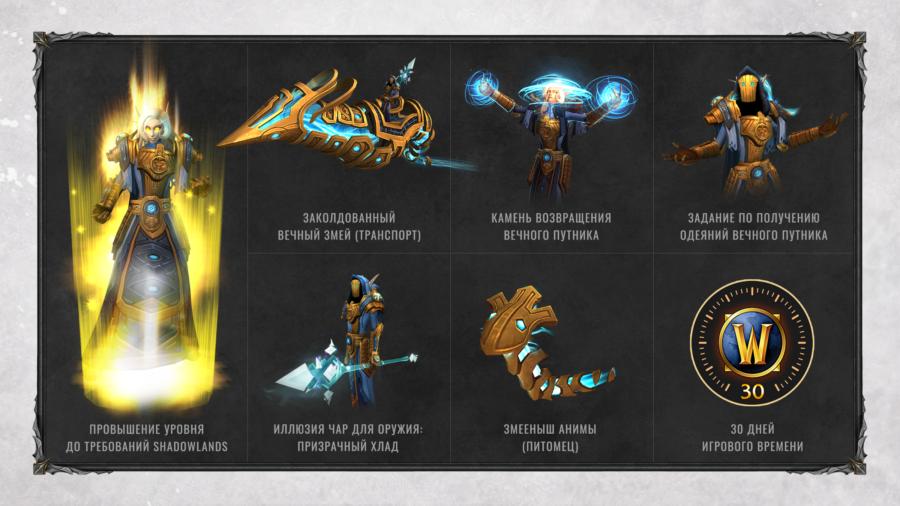 Объявлена дата начала ЗБТ World of Warcraft: Shadowlands