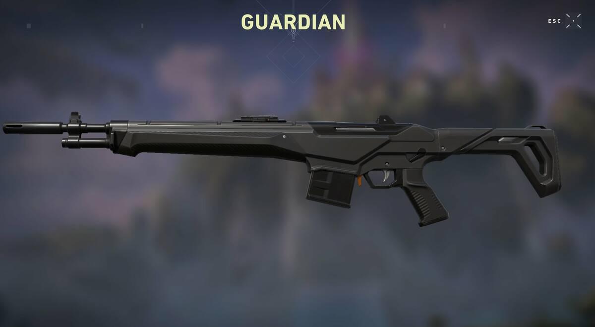Разработчики Valorant переработали оружие Guardian