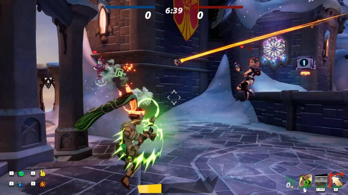 Обзор Rocket Arena Бесплатная игра, которая продается за деньги