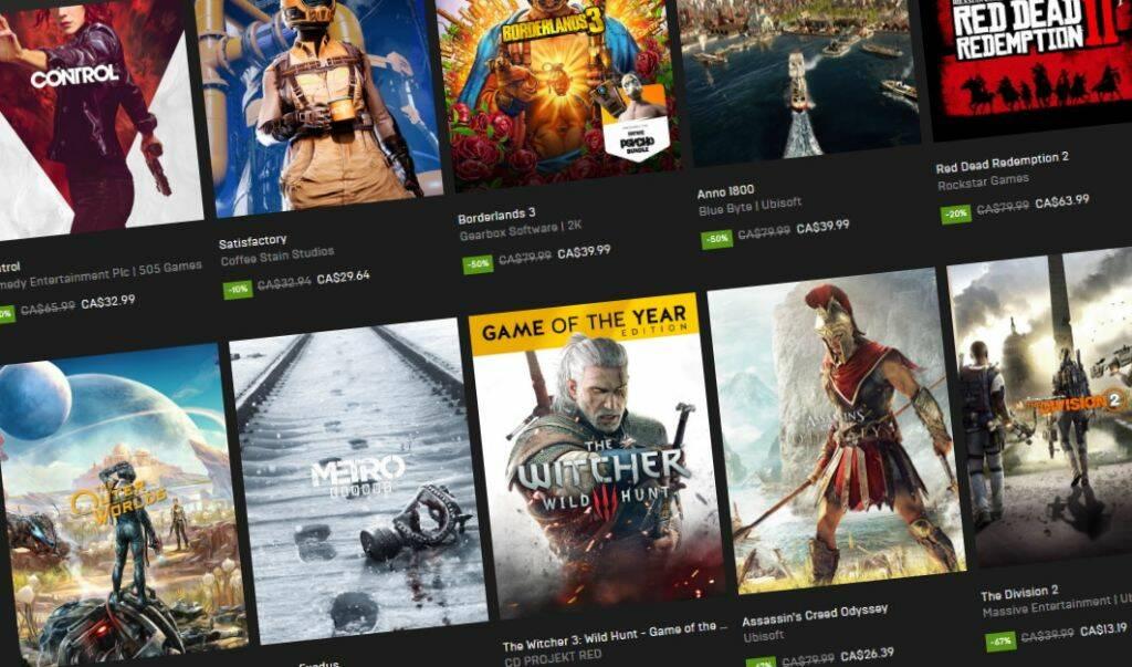 Epic Games Store был официально интегрирован в GOG Galaxy 2.0