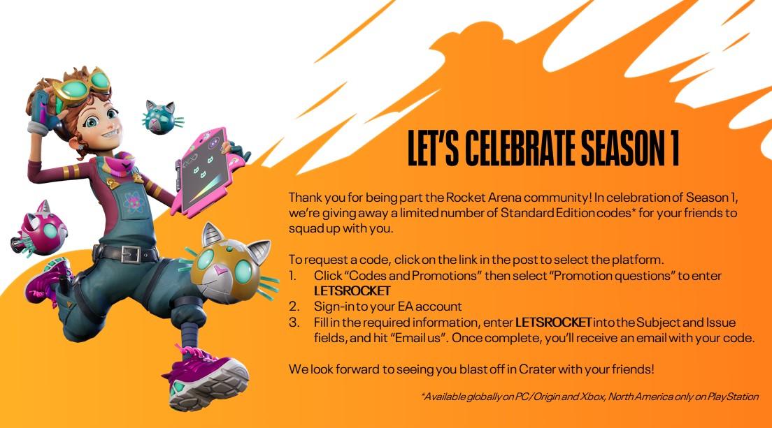 Шутер Rocket Arena можно забрать бесплатно и навсегда
