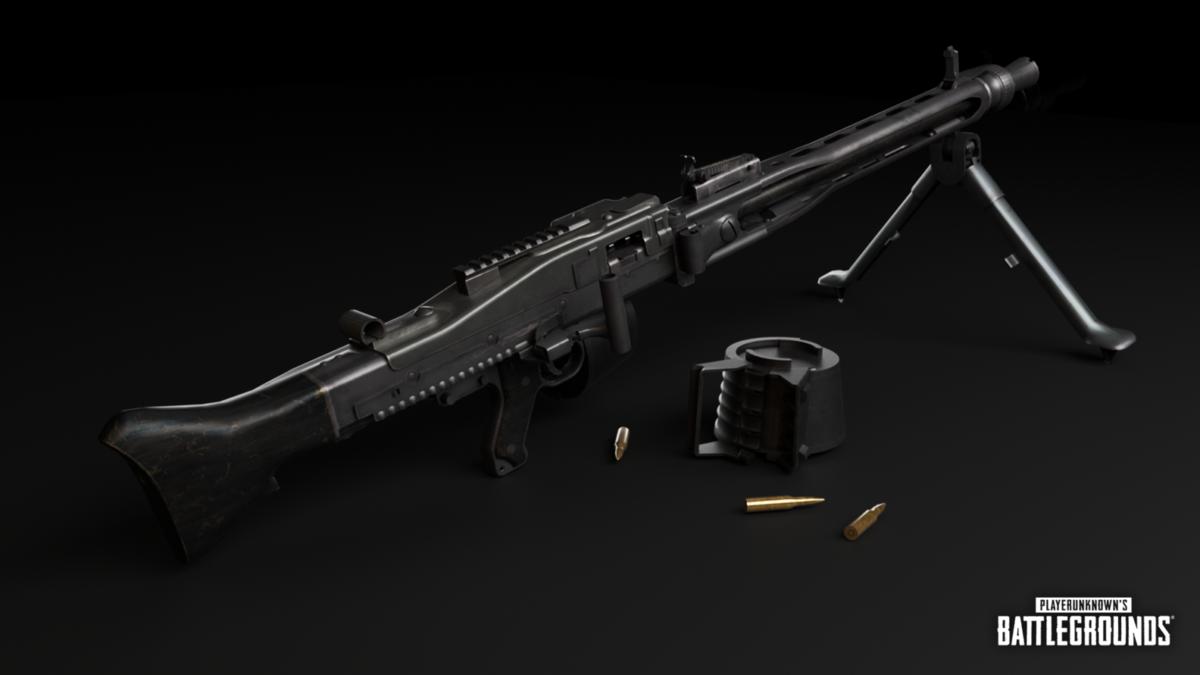 В PUBG добавили пулемет MG3 и функцию Скрыть шлем