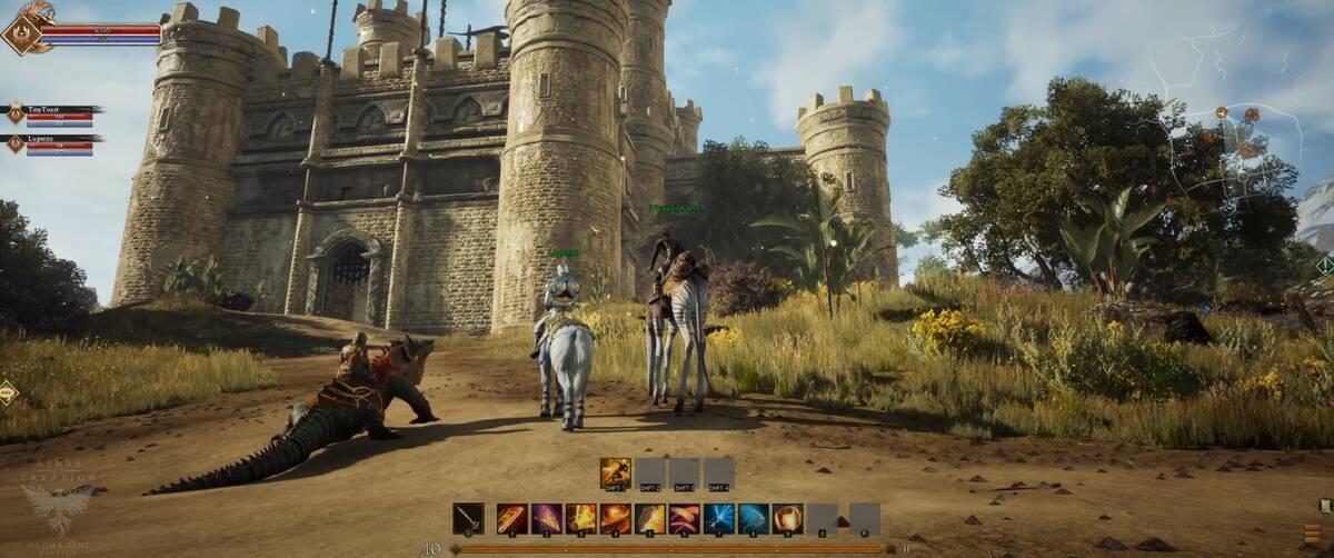 Отчет с последнего стрима MMORPG Ashes of Creation ход разработки, боевая система, замок и другое