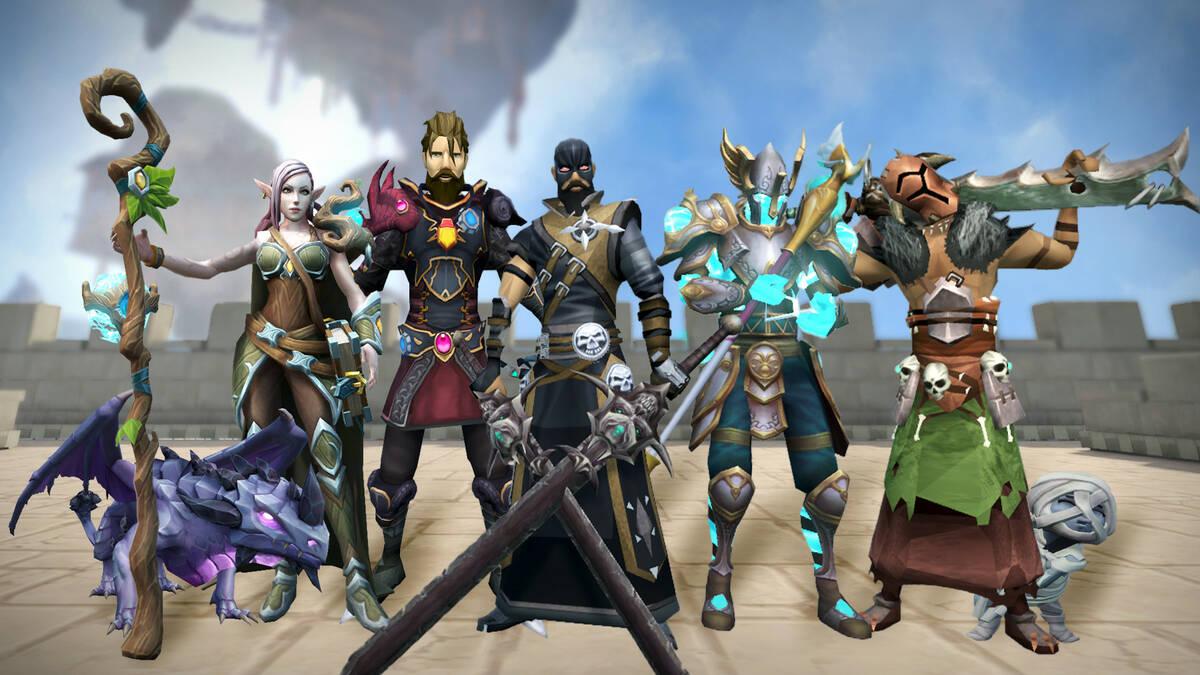 MMORPG RuneScape появилась в Steam