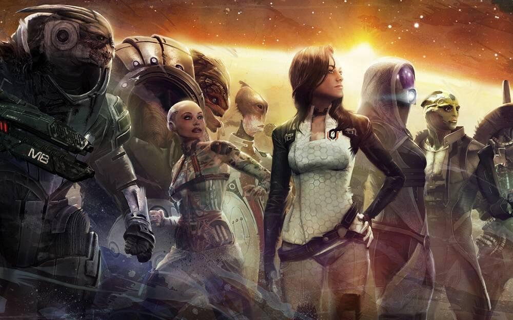 Ремастер трилогии Mass Effect будет выпущен без мультиплеера