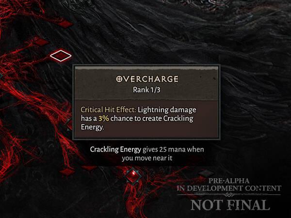 Diablo IV Умения и таланты, чары Волшебницы, прогрессия на высоких уровнях